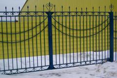 Портфолио забор сварной105
