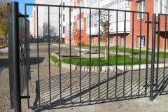 Портфолио забор сварной122