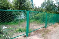 Портфолио забор сетка126