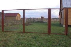 Портфолио забор сетка128