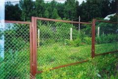 Портфолио забор сетка130