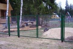 Портфолио забор сетка133