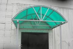 Портфолио навес поликарбонат183