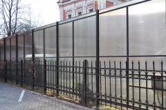 Портфолио забор поликарбонат61