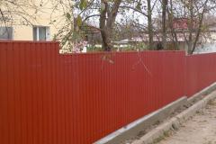 Портфолио забор профлист95